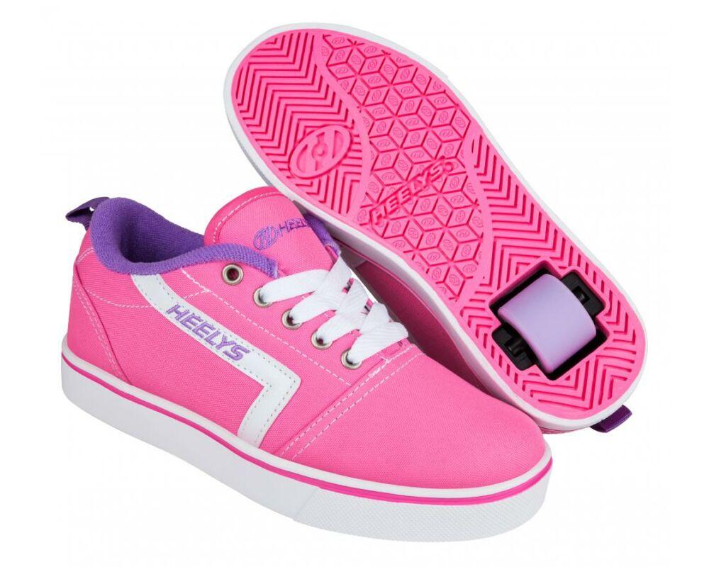 dda68734c328 Heelys GR8 Pro pink/white/lilac - Gurulós cipők