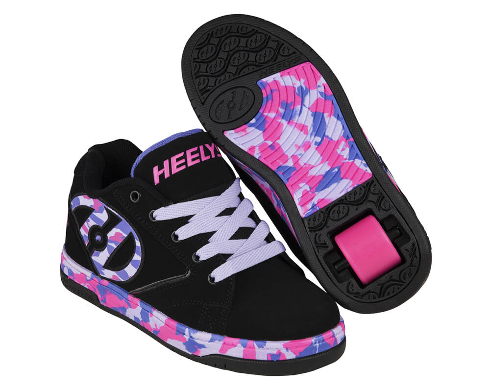 d5c35828f4a1 Heelys Propel 2.0 black/lilac/pink/confetti - Gurulós cipők