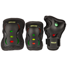 Bullet Triple Padset black/red/yellow/green