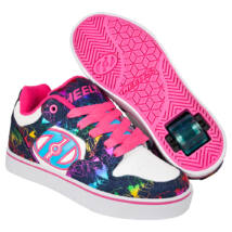 Heelys Motion Plus white/denim/rainbow foil
