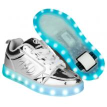 Heelys Premium 1 Lo silver chrome