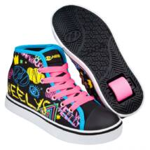 Heelys Veloz black/rainbow/scribble