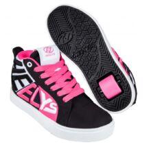 Heelys Racer 20 Mid black/white/neon pink