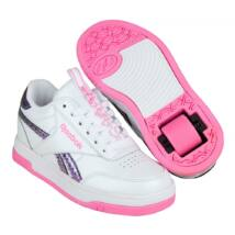 Heelys X Reebok CL Court Low white/neon blue/yellow/pink