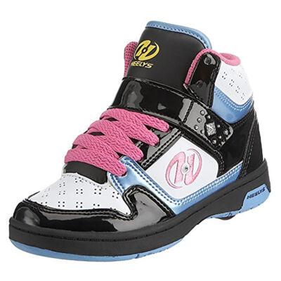 Heelys Brooklyn Hi white/black/pink/blue