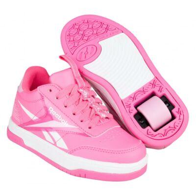 Heelys X Reebok Court Low solar pink/light pink/white