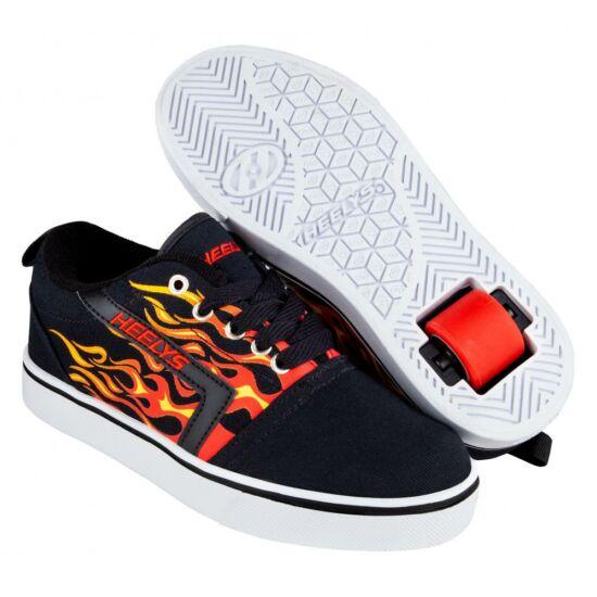 Heelys GR8 Pro Flames black/red flames