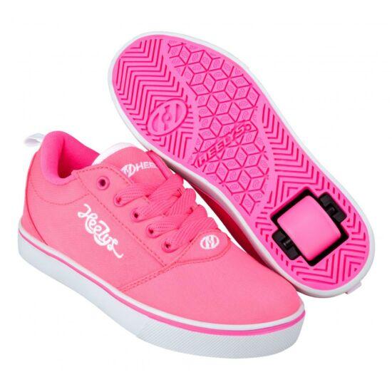 Heelys Pro 20 neon pink/white