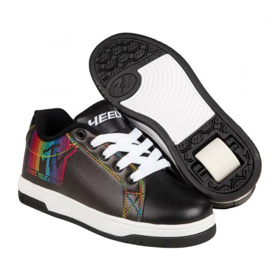 Heelys X MTV Split black/white/rainbow pu