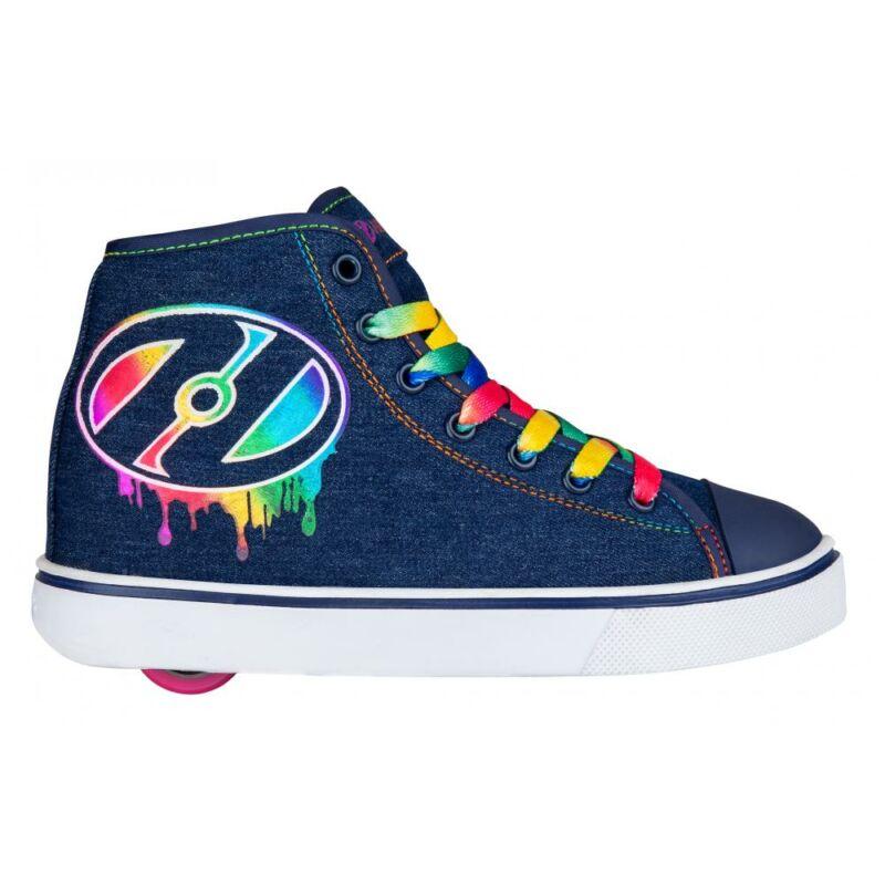 Heelys Veloz denim/rainbow/drip