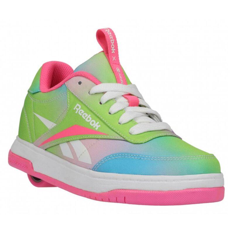 Heelys X Reebok Court Low electro pink/neon mint/digi glow