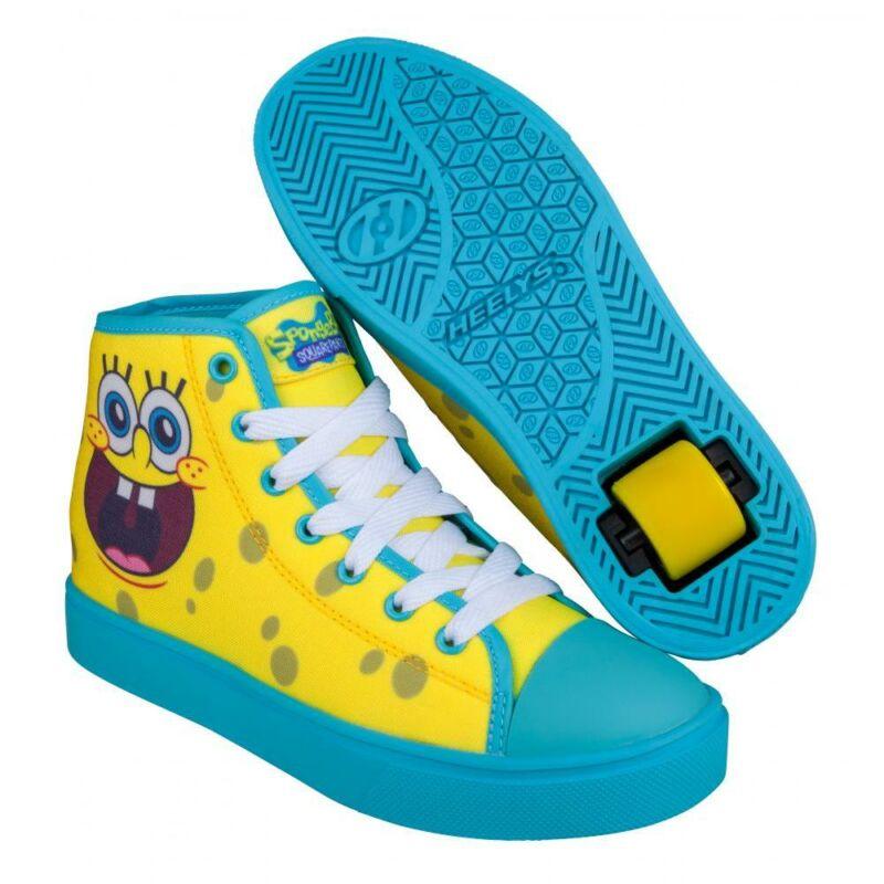 Heelys Hustle SpongeBob yellow/aqua